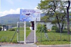 Entrée de l'Aéroclub de Savoie